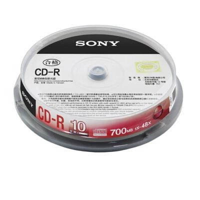 索尼CD-R 10片/桶