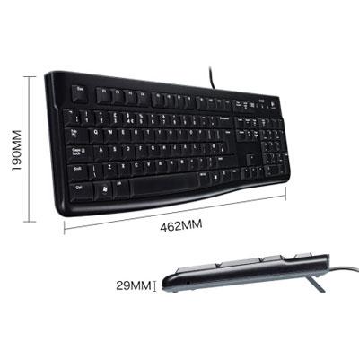 罗技K120有线键盘