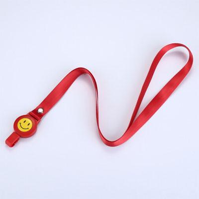 卡富仕8744红色伸缩绳+笑脸