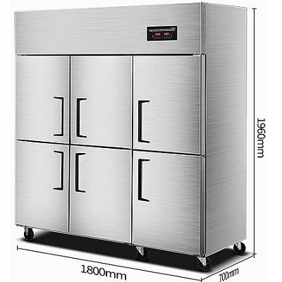 乐创LC-J-LM01冷藏冰柜 6门