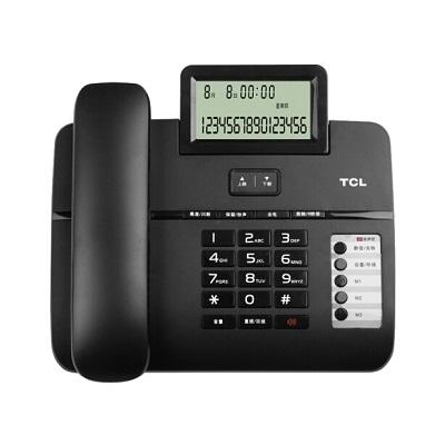 TCL HCD868(66)TSD 黑色电话机