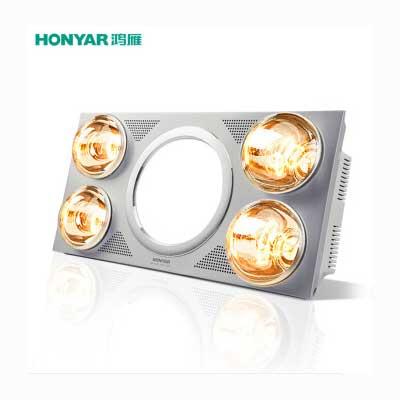 鸿雁灯暖浴霸LED照明换气三合一 B02