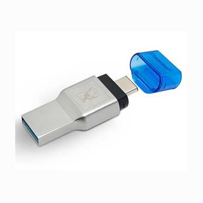 金士顿Type-C多功能二合一读卡器双接口