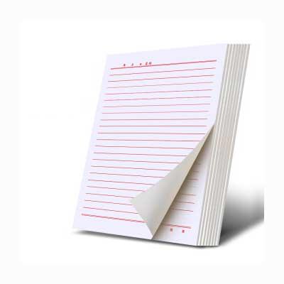 会议记录纸100张/本