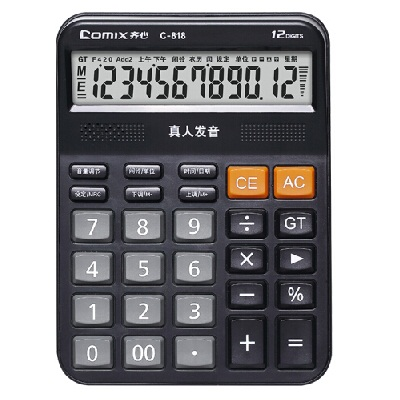 齐心C-818计算器