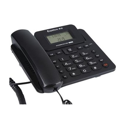齐心T333电话机(黑色)