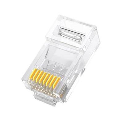 山泽WL-6100 8P8C六类水晶头(100个/盒)