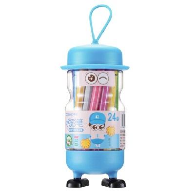 齐心OP1003-24儿童画笔水彩笔