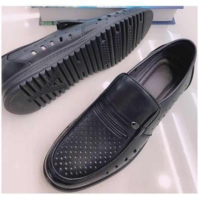 男款皮凉鞋