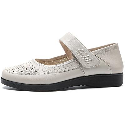 女款皮凉鞋