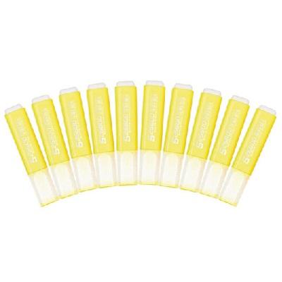 齐心HP908荧光笔黄色 10支/盒
