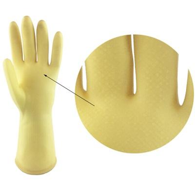 粤龙加厚型橡胶手套(L)