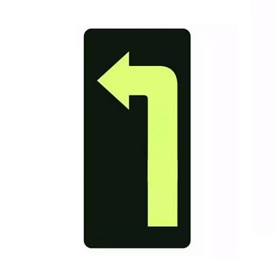 PVC地贴标识牌左DT36