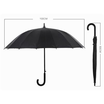 斯图雨伞100cm 8根伞骨