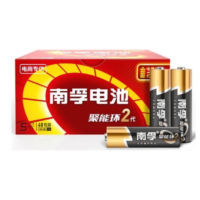 南孚LR6AA 5号碱性电池(40粒/盒)