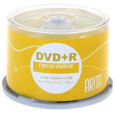 铼德DVD+R 16速4.7G刻录光盘(50片/桶)