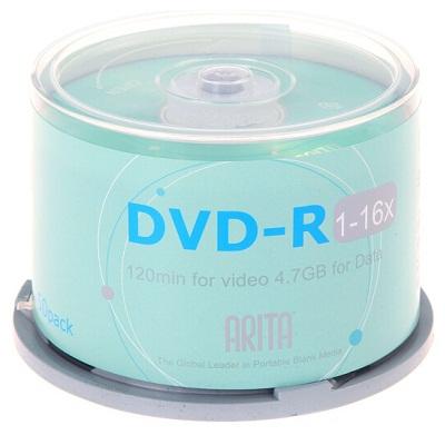 铼德DVD-R 16速4.7G刻录光盘(50片/桶)