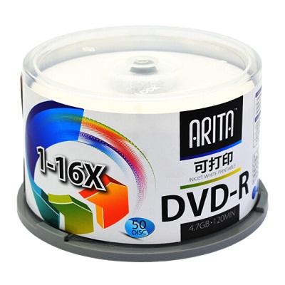 铼德DVD-R 16速4.7G可打印空白光盘(50片/桶)