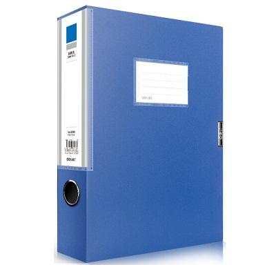 得力5683蓝色档案盒239*317*55mm 12只/箱