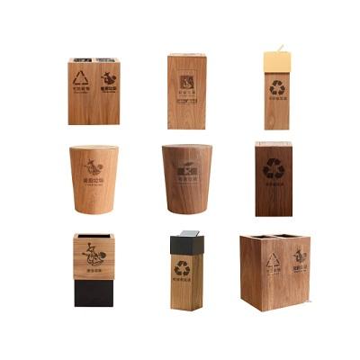 木质垃圾桶盖
