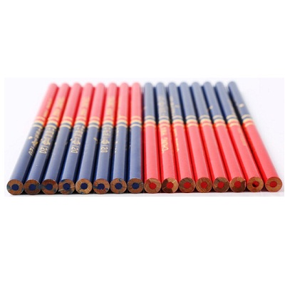 中华120红蓝双头铅笔(盒)50支装