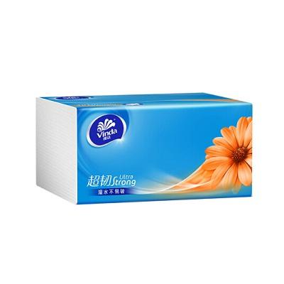 维达 超韧3层150抽软抽纸巾(S码)(包)