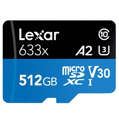 雷克沙TF512GB 633x存储卡