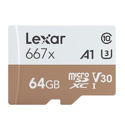 雷克沙TF64GB 667x存储卡