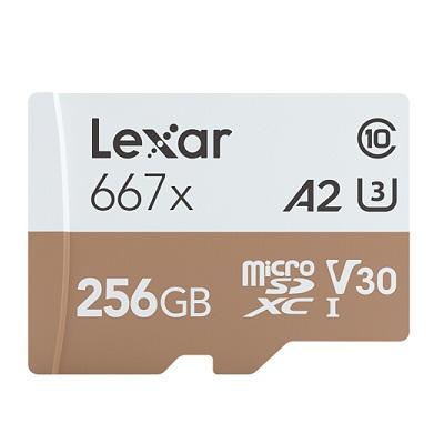 雷克沙TF256GB 667x存储卡