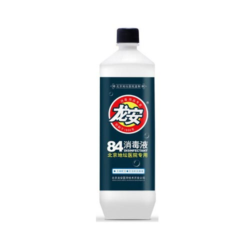 龙安84消毒液470ml整箱20瓶