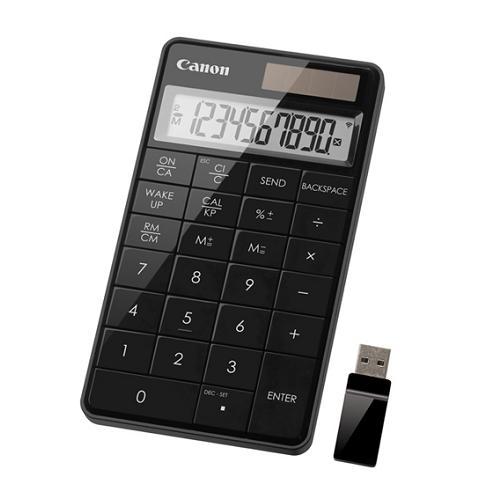 佳能 X Mark I Keypad RF 桌面计算器(黑色)