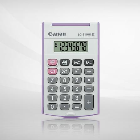 佳能 LC-210Hi III 计算器(紫色)