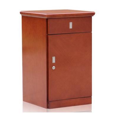 虎牌 ZW-770 床头柜木纹保险柜(红色)