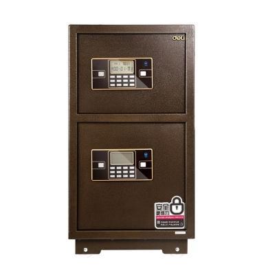 得力 33033 宝塔山独立双层电子密码保管箱