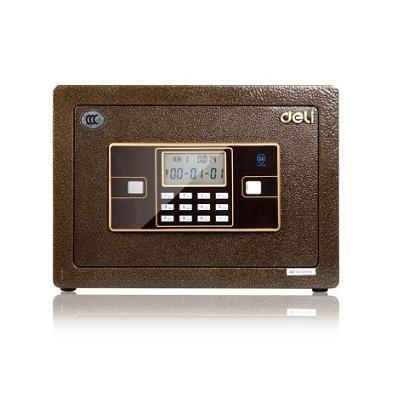 得力 33034 3C认证铁衣卫加厚电子密码保险箱