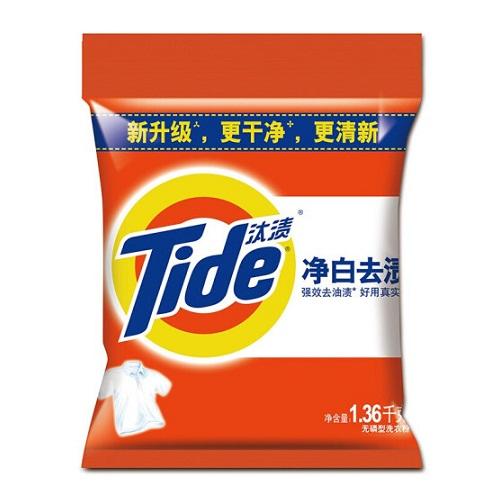 汰渍无磷洗衣粉1.36kg/袋
