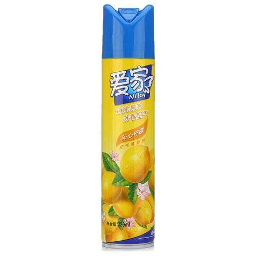 爱家空气清新剂320ml/瓶