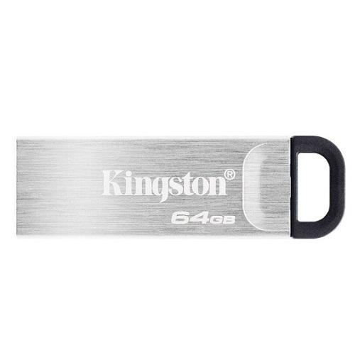 金士顿64GB USB 3.2 Gen 1 U盘 DTKN 金属外壳 读速200MB/s