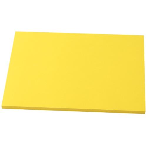 金旗舰A4 80g卡纸(柠檬黄)