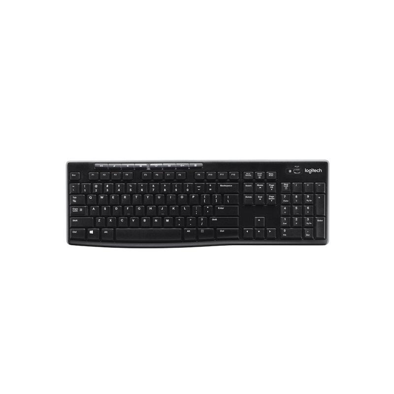 罗技K270无线键盘黑色
