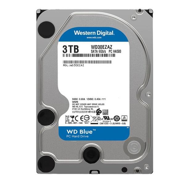 西部数据WD30EZAZ机械硬盘3TB SATA6Gb/s 256MB