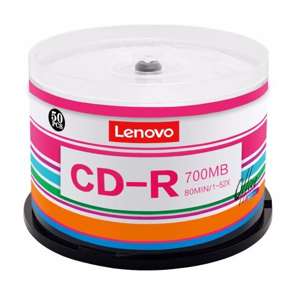 联想CD-R刻录盘 52速700MB 50片/桶
