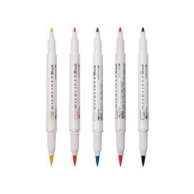 斑马WFT8-N-5C荧光笔5色/套