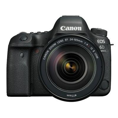 佳能EOS 6D Mark II 6D2 单反相机 单反套机 全画幅(EF 24-105mm f/4L IS II USM 单反镜头)