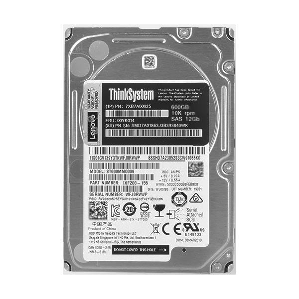 联想8TB机械硬盘(7.2K 3.5英寸)