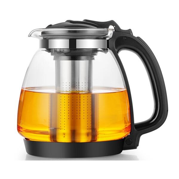 紫丁香S825-1耐热玻璃茶壶1.35L