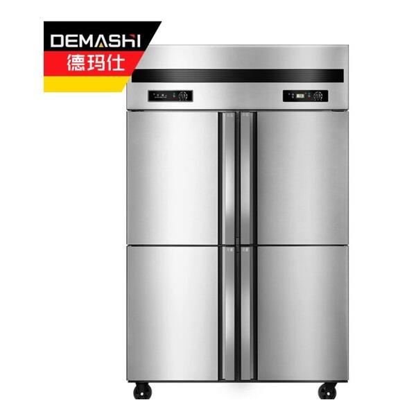德玛仕KCD1.0L4-2W商用四门双温冰箱
