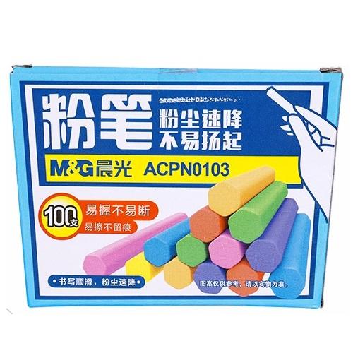 晨光ACPN0103彩色六角粉笔