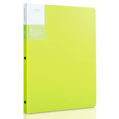 得力5151-30页资料册(绿)