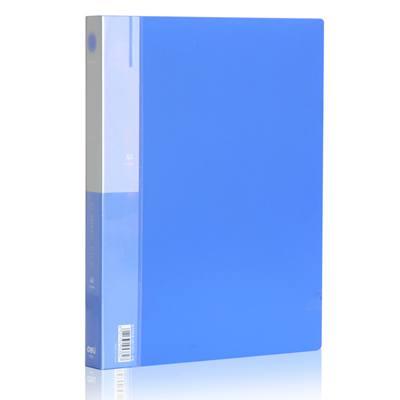 得力5382文件夹(蓝)(只)